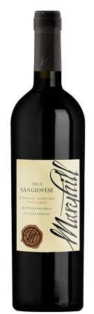 2015 Sangiovese, Elephant Mountain Vineyard