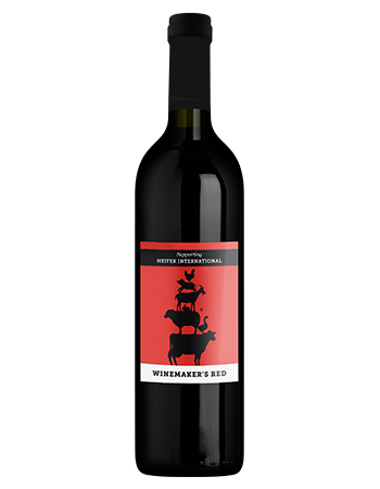 2015 Winemaker's Red, Heifer International (Red)