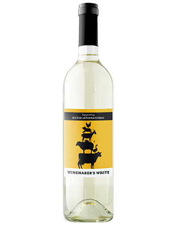 2016 Winemaker's White, Heifer International (Yellow)